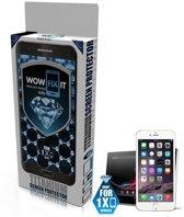 Wowfixit - vloeistof / liquid tempered glass / screenprotector voor iPhone 6s / 6s Plus - 9H - sterker dan gewone tempered glass