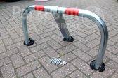 Parkeerbeugel handmatig PP-H01ZC ZWAAR + CILINDERSLOT-Verschillend sluitende cilinder