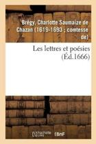 Les Lettres Et Po sies