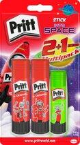 Pritt Stick - Neon Stick - 2x43 gram + 1x20 gram - Pritt Stift