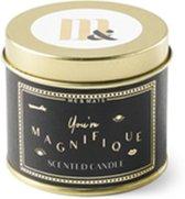 ME&MATS tinnen geurkaars - You're Magnifique (200 gram)