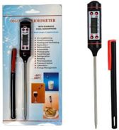 Digitale Vleesthermometer / BBQ Thermometer / Voedselthermometer / -50 tot +300 Graden Celcius