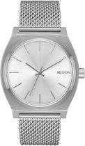 Nixon Time Teller Milanese A11871920 - Horloge - Staal - Zilverkleurig - 37mm