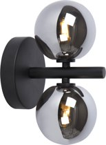 Lucide TYCHO - Wandlamp - G9 - Zwart