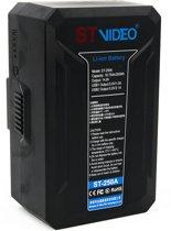 Stvideo ST-250A broadcast camera batterij LG li-ion accu cells Gold Mount USB powerbank D-Tap
