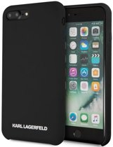 "Karl Lagerfeld Silicone Case - Apple iPhone 7 Plus (5.5"") - Zwart"