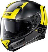 Nolan N87 Plus Distinctive 25 Flat Black Yellow  Integraalhelm - Motorhelm - Maat M