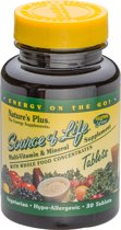 Source of Life, Multivitamine, 30 tabletten, Nature's Plus