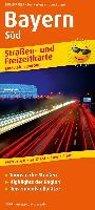 Bayern-Süd. Straßen- und Freizeitkarte 1 : 200 000