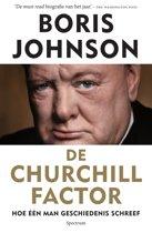 Boek cover De Churchill factor van Boris Johnson