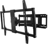 DQ Wall-Support DQ Colossus Heavy Duty TV Beugel Zwart
