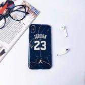 Jordan telefoon hoesje - iPhone 7/8 - Donkerblauw