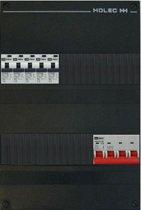 EMAT groepenkast 3 fase 5 aardlekautomaten en afmetingen 330x220 mm