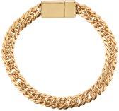 Armband lovely women goudkleurig / trendy armband / met magneetsluiting