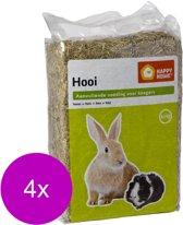 Happy Home Weidehooi - Ruwvoer - 4 x 2.5 kg