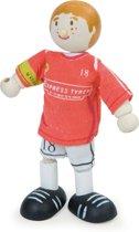 Le Toy Van Poppenhuispop Voetballer nummer 18