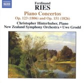 Hinterhuber / New Zealand Symph. Or - Piano Forte Concerts Op. 151 & Op.