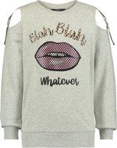 Coolcat Trui Sweater Dlinda - Licht Grijs Melange - 110/116