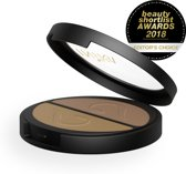 Inika Vegan Pressed Mineral Eye Shadow Duo Gold Oyster
