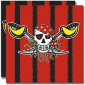 Piraten Servetten - 20 stuks