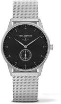 Paul Hewitt Signature Line Silver Mark I Black Sea - Horloge - Staal - Zilverkleurig - 38mm