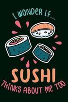 Sushi Notizbuch
