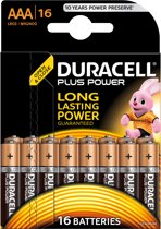 Duracell AAA Plus Power - 16 stuks