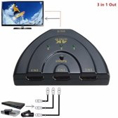 HDMI Switch Splitter 3 Poorts HDTV 1080P tot 4K Ultra Hd Resolutie