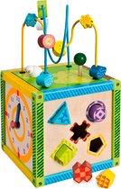 Eichhorn - houten kubus met 6 spellen