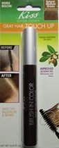Kiss Quick Cover Gray Hair Touch Up Brush Naturel Medium brown