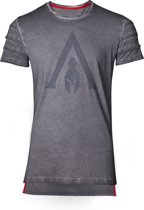 Assassin's Creed: Odyssey - Logo Oil Dye Pintuck T-Shirt - Maat M