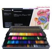 4artz® Ultimate Aqua aquarel potloden 120 stuks - kleurpotloden