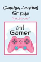 Gaming Journal for Kids the Pink One