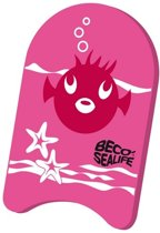 Beco Sealife Zwemplank Drijfplank Roze - 34 cm