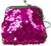 Lg-imports Zeemeermin-portemonnee Glitter 9 Cm Roze