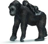 Gorilla, Vrouw Met Jong