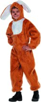 Carnavalskleding dierenkostuum Paas Haas bruin kind Maat 116