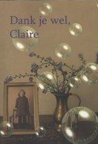 Dank je wel Claire
