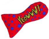 Yeowww! Vis Sardientje - Catnip Kattenkruid Speeltje voor Katten - Sterren - 7.5 cm