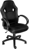 TecTake - bureaustoel Benjamin, zwart-zwart, comfortabel, racing style  - 402161