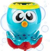 Gadgy Bellenblaasmachine Octopus - Automatische bellenblaasmachine met verlichte ogen - Inclusief bellenblaas vloeistof – 20 cm.