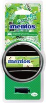 Luchtverfrisser Mentos Green Apple met luchtroosterclip 7ml