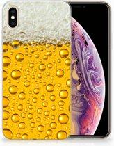 iPhone Xs Max  TPU-siliconen Hoesje Bier