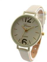 Luxe vrouwen horloge   Beige
