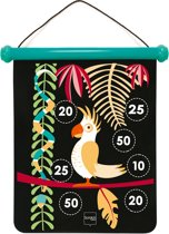 Scratch Tweezijdig magnetisch dartspel TROPICAL JUNGLE