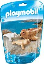 PLAYMOBIL Zeehond met pups  - 9069