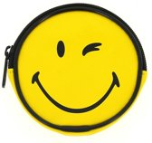 Blueprint Collections Portemonnee Smiley Geel 10 Cm