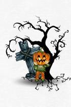 Jack-O-Lantern Scarecrow Notebook