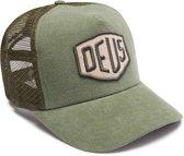 DEUS Trucker pet Foxtrot Shield - olive