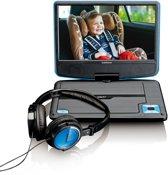 """Lenco DVP-910 - 9"""" Portable DVD-speler - Blauw/Zwart"""